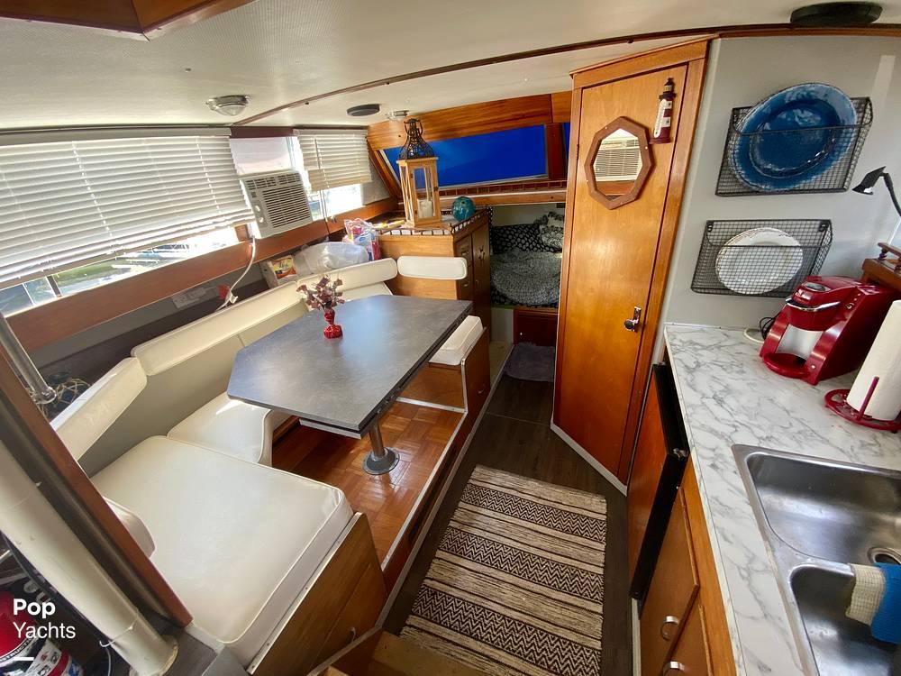 1975 Marinette boat for sale, model of the boat is 32 Sedan & Image # 23 of 40