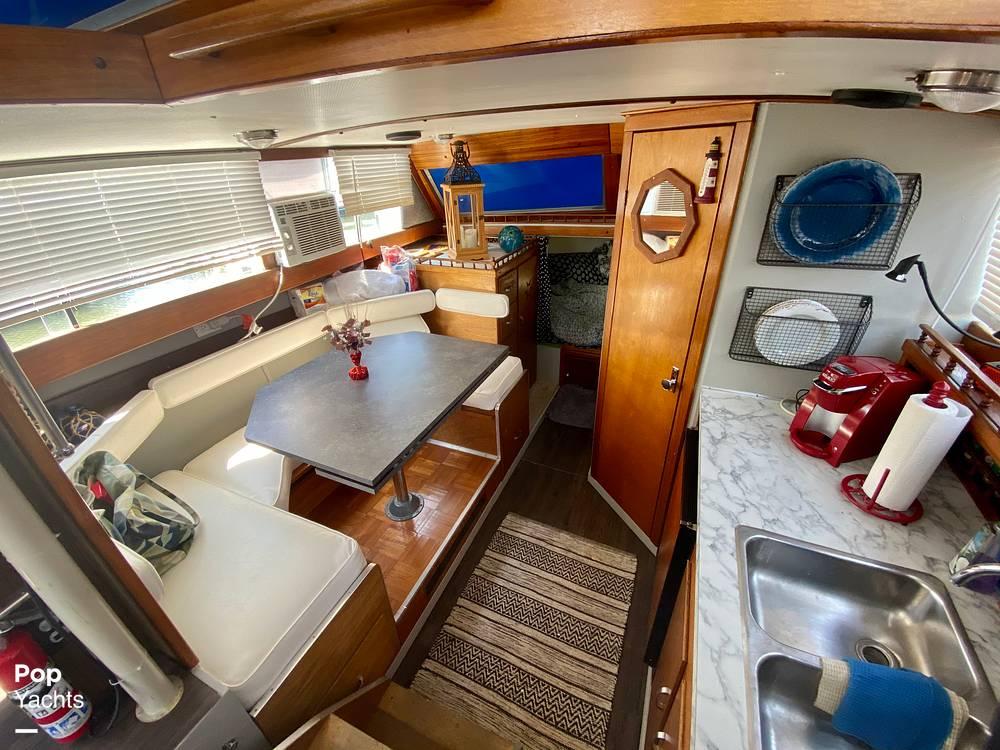 1975 Marinette boat for sale, model of the boat is 32 Sedan & Image # 9 of 40