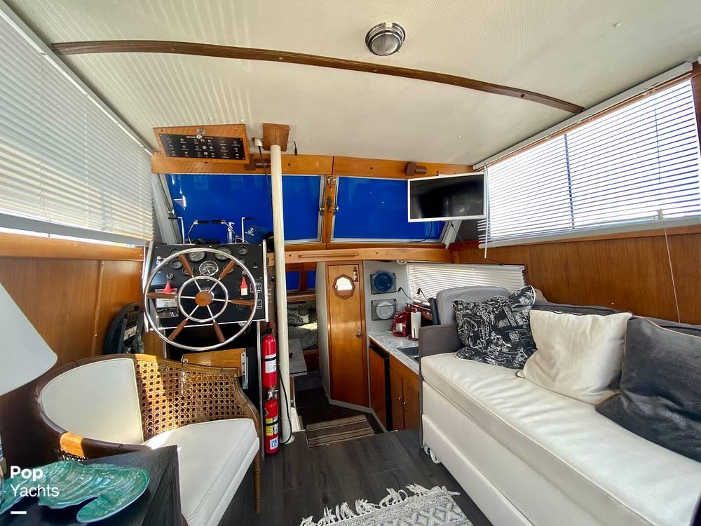 1975 Marinette boat for sale, model of the boat is 32 Sedan & Image # 22 of 40