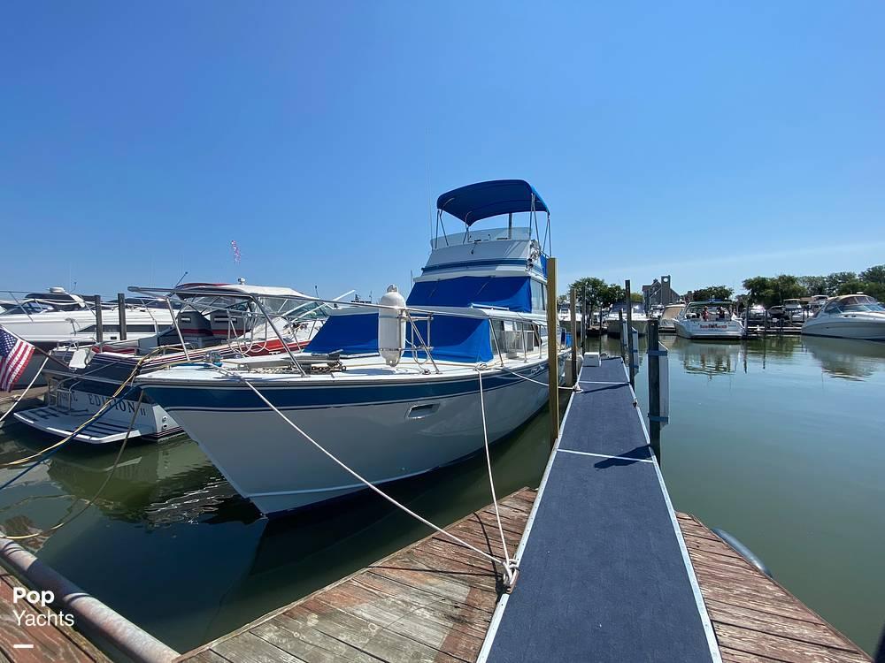 1975 Marinette boat for sale, model of the boat is 32 Sedan & Image # 20 of 40