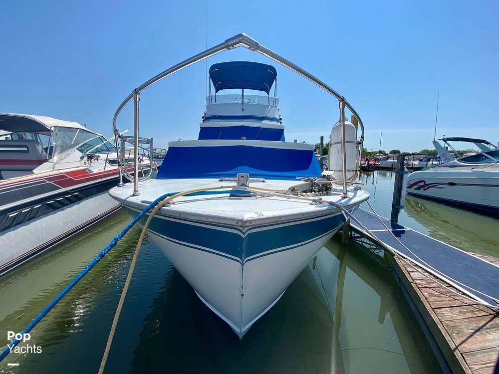 1975 Marinette boat for sale, model of the boat is 32 Sedan & Image # 18 of 40