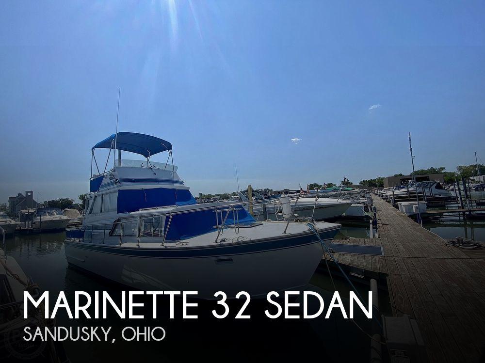 1975 Marinette boat for sale, model of the boat is 32 Sedan & Image # 1 of 40