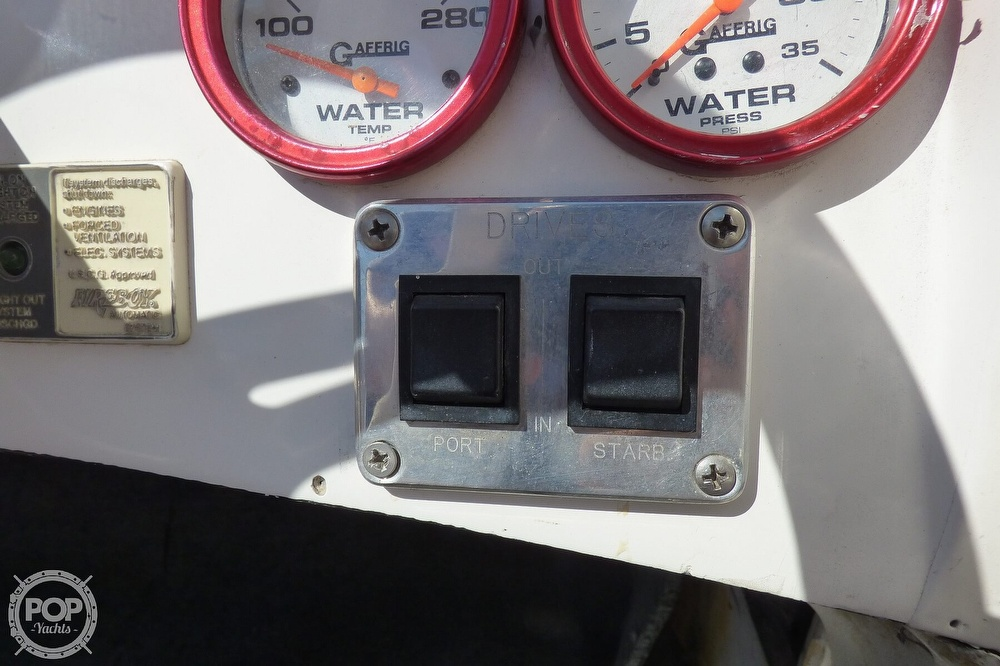 2002 Warlock boat for sale, model of the boat is 36 & Image # 24 of 40