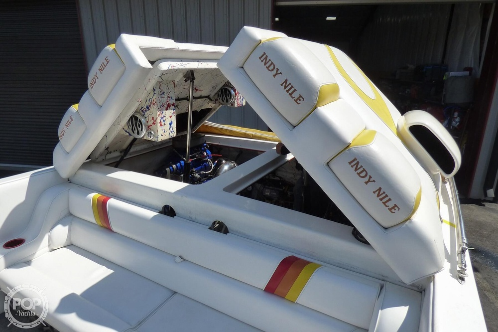 2002 Warlock boat for sale, model of the boat is 36 & Image # 10 of 40