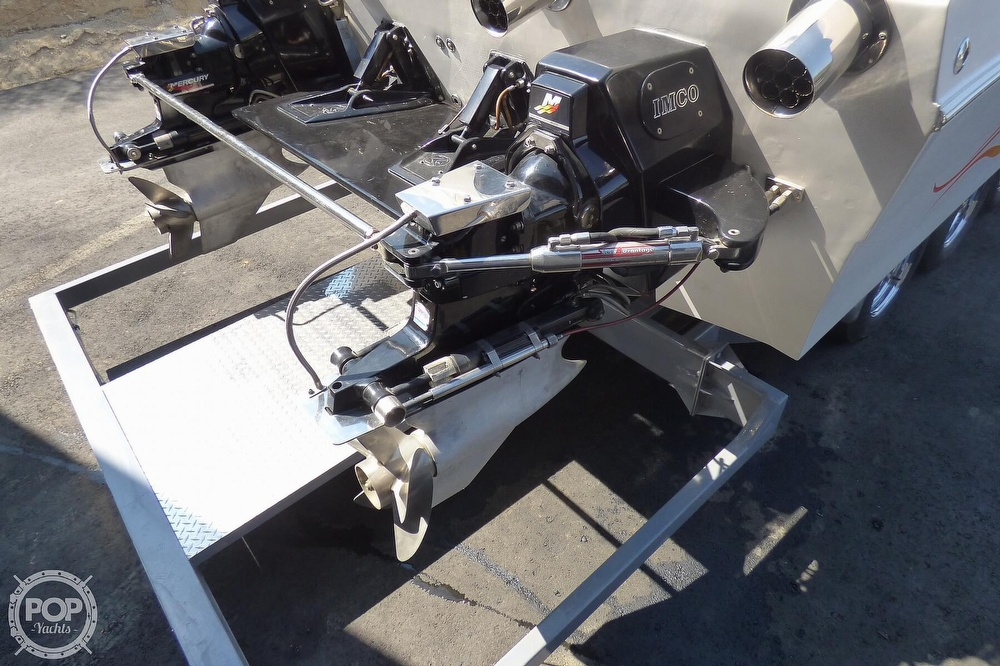 2002 Warlock boat for sale, model of the boat is 36 & Image # 14 of 40