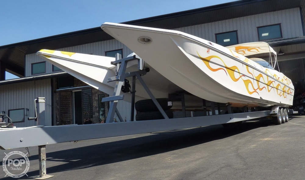 2002 Warlock boat for sale, model of the boat is 36 & Image # 15 of 40