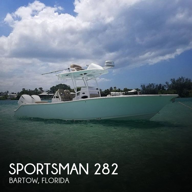 Used Power boats For Sale in Tampa, Florida by owner | 2017 Sportsman 282