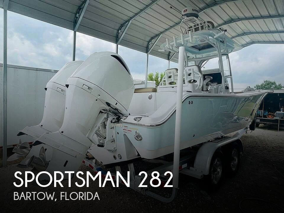 2017 Sportsman Boats boat for sale, model of the boat is 282 & Image # 1 of 40