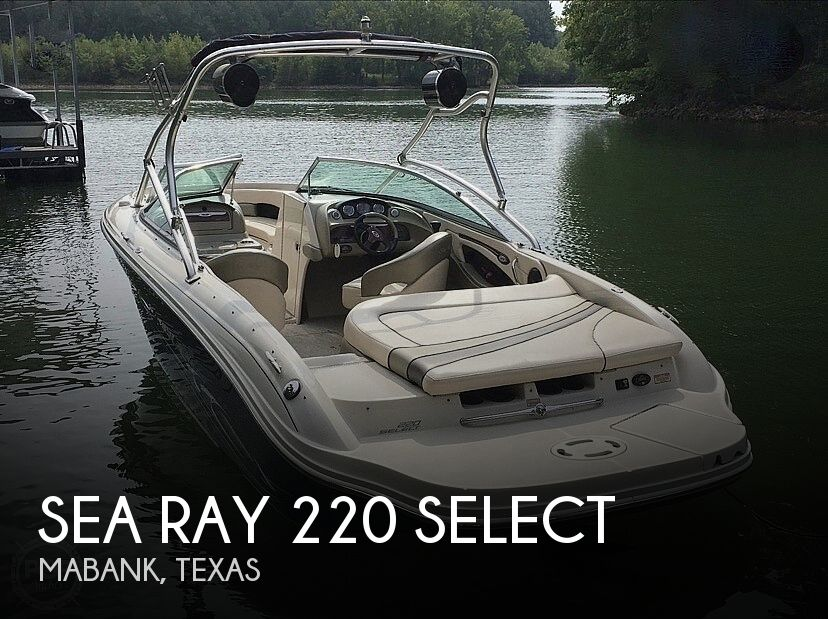 2005 Sea Ray boat for sale, model of the boat is 220 Select & Image # 1 of 40