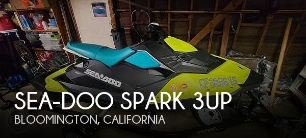 2019 SEA DOO PWC SPARK 3UP for sale
