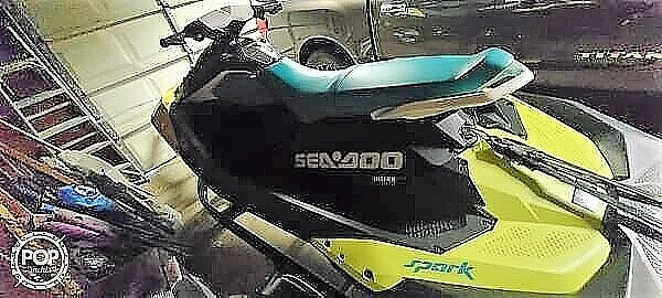 2019 Sea Doo PWC boat for sale, model of the boat is Spark 3UP & Image # 2 of 11