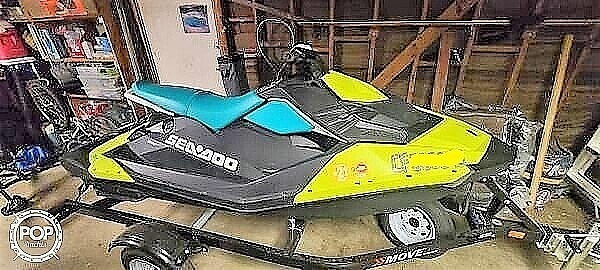 2019 Sea Doo PWC boat for sale, model of the boat is Spark 3UP & Image # 5 of 11
