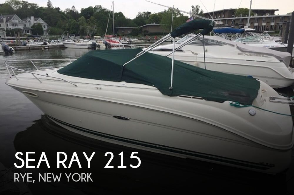 Used Sea Ray Weekender Boats For Sale by owner | 2004 Sea Ray 215 Weekender