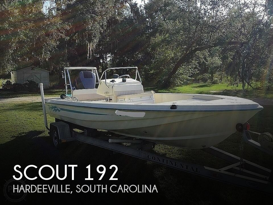 1999 Scout boat for sale, model of the boat is 192 Sportfisher & Image # 1 of 40