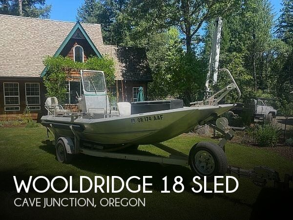 Used Power boats For Sale in Medford, Oregon by owner | 1979 Wooldridge 18 Sled