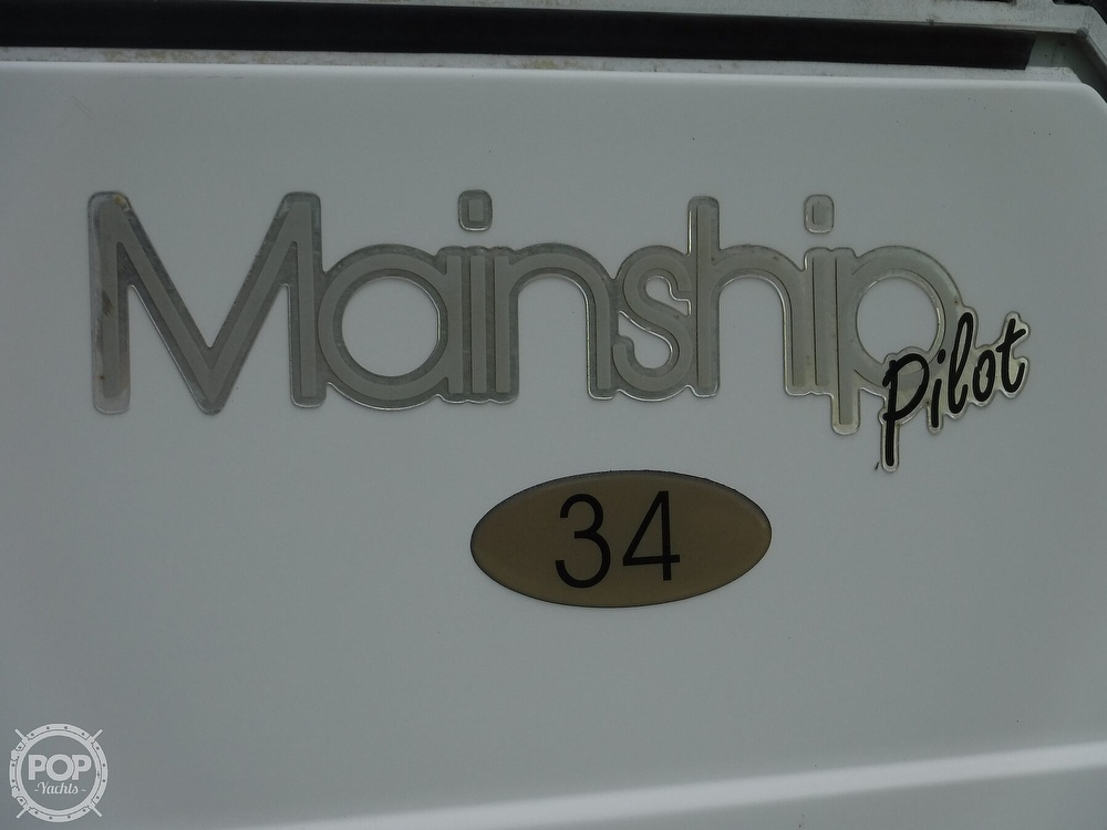 2001 Mainship boat for sale, model of the boat is 34 Pilot & Image # 3 of 40