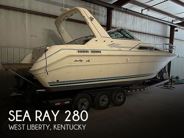 1990 Sea Ray boat for sale, model of the boat is 280 Sundancer & Image # 1 of 14