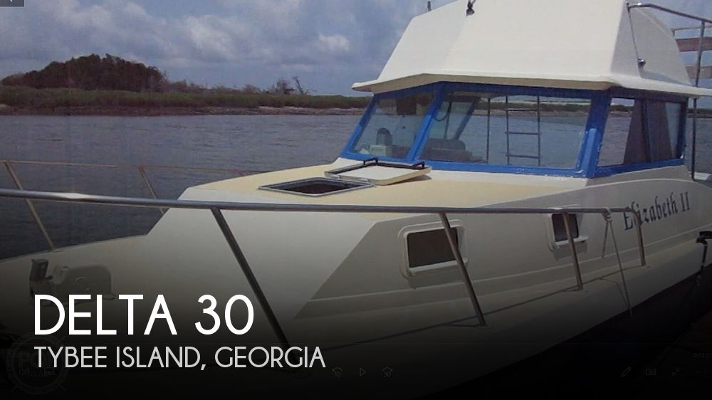 1984 Delta boat for sale, model of the boat is 30 & Image # 1 of 40