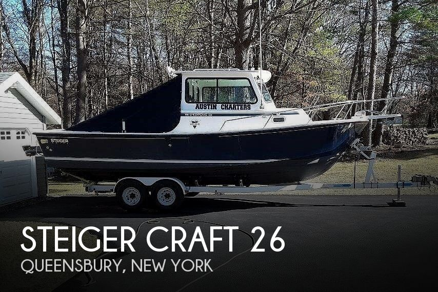 Used Power boats For Sale in Albany, New York by owner | 2005 Steiger Craft Chesapeake 26