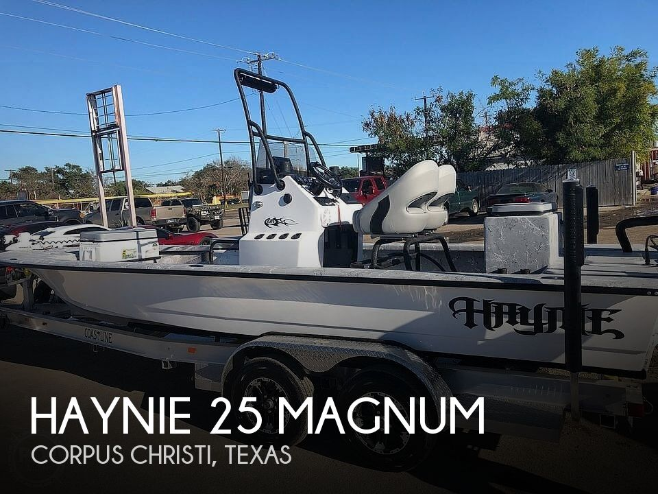 2020 Haynie boat for sale, model of the boat is 25 Magnum & Image # 1 of 36