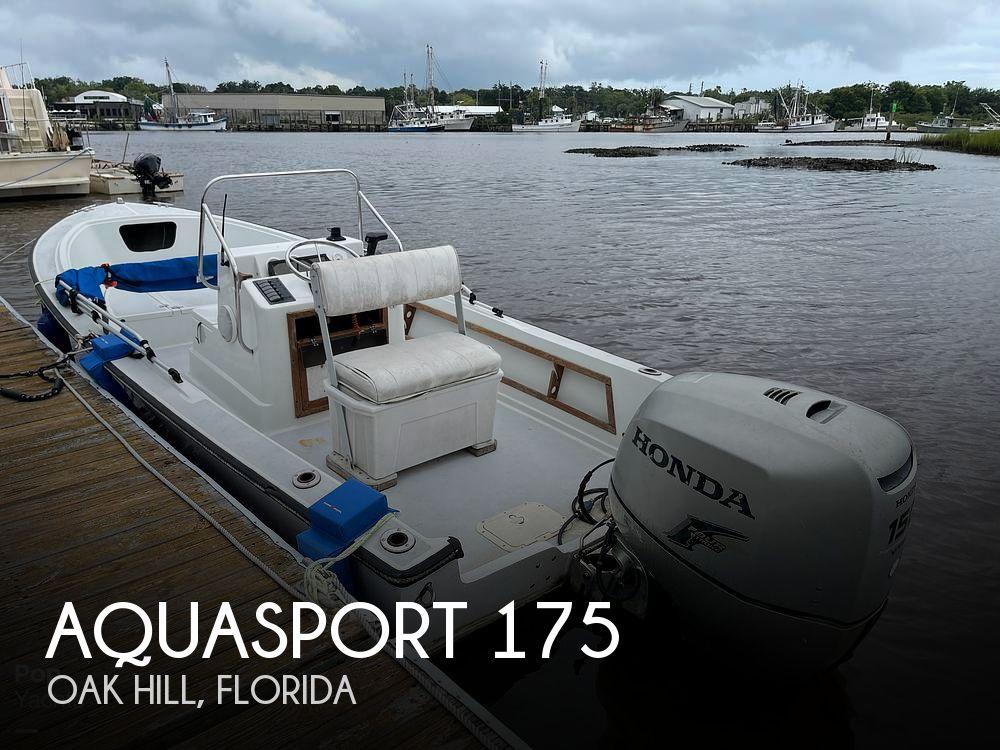 1987 AQUASPORT 175 for sale