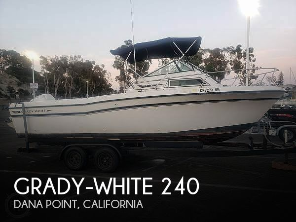 Used Grady-White Boats For Sale in California by owner | 1984 Grady-White 240
