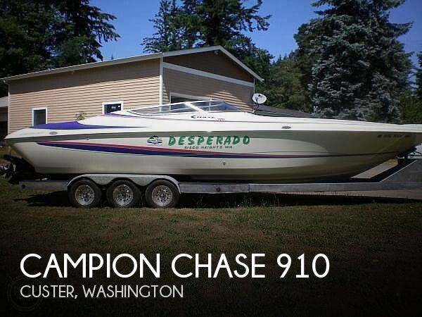 Used Campion  Boats For Sale in Washington by owner | 1996 Campion Chase 910