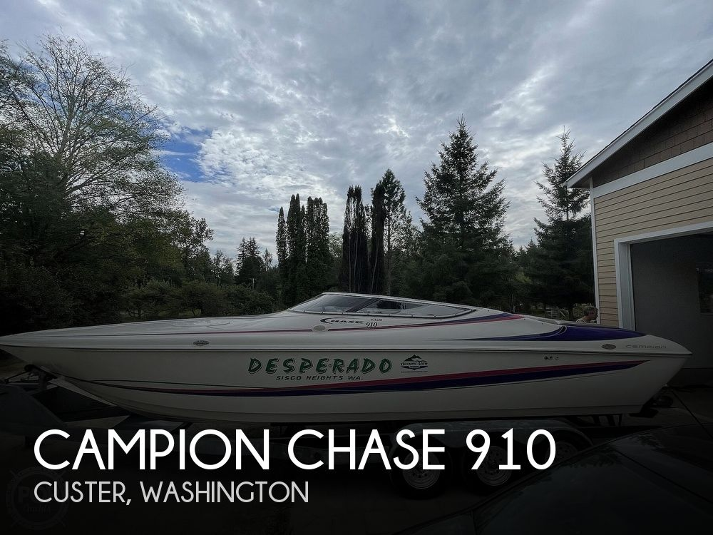 1996 Campion boat for sale, model of the boat is Chase 910 & Image # 1 of 40