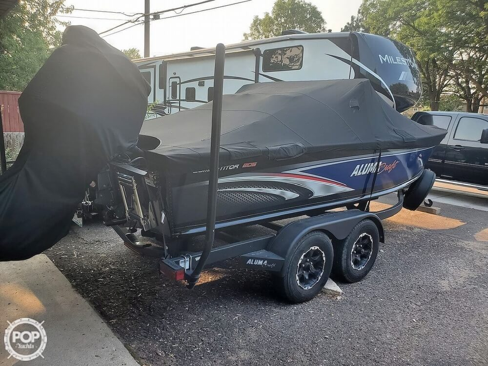 2018 Alumacraft boat for sale, model of the boat is 205 COMPETITOR & Image # 11 of 12