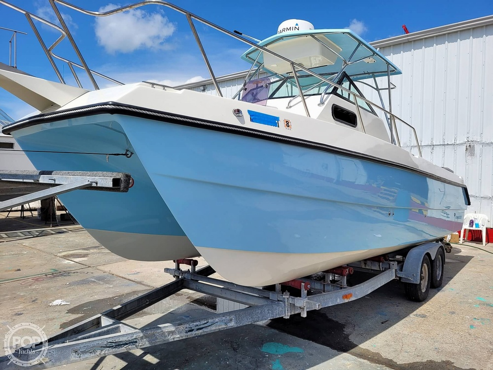 1997 Sea Cat boat for sale, model of the boat is SL5C Cuddy & Image # 4 of 40