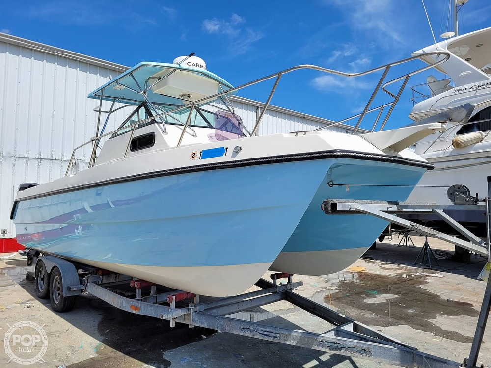 1997 Sea Cat boat for sale, model of the boat is SL5C Cuddy & Image # 31 of 40