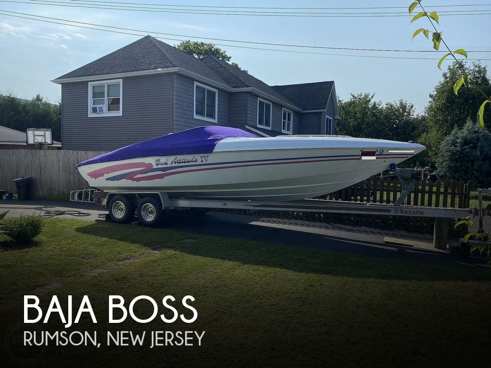 1998 Baja boat for sale, model of the boat is Boss & Image # 1 of 40