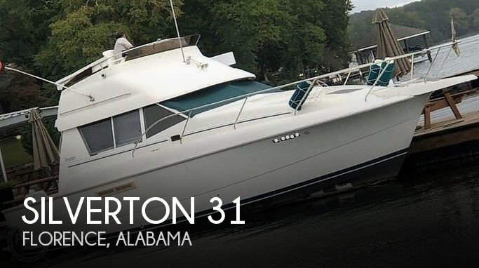 1994 Silverton boat for sale, model of the boat is 31 Convertible & Image # 1 of 26