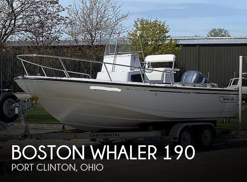 Used Boston Whaler 190 Boats For Sale by owner | 1996 Boston Whaler 190 Outrage