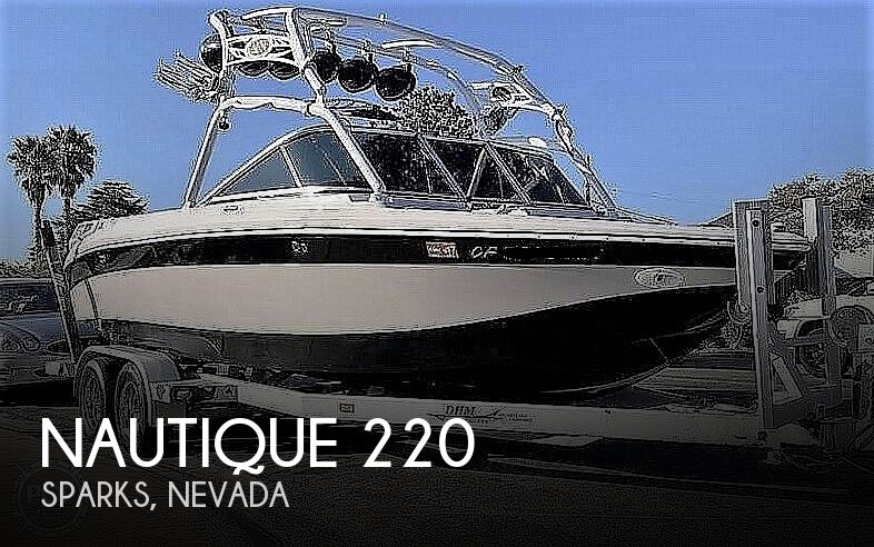 2007 Nautique boat for sale, model of the boat is Super Air 220 & Image # 1 of 2