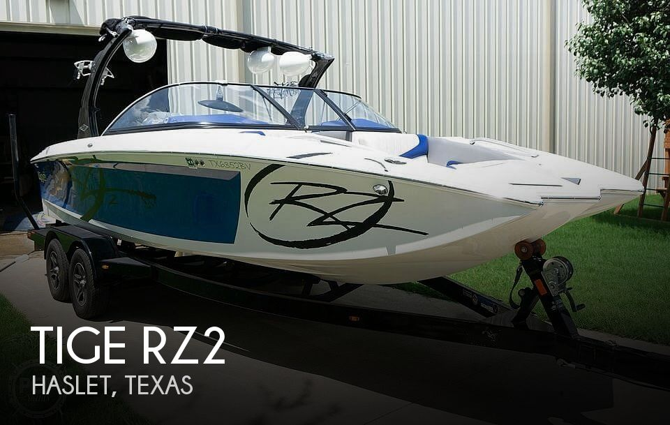 Used Tige Boats For Sale by owner   2013 Tige rz2