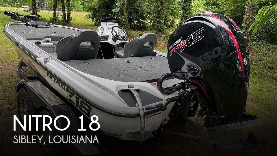2020 Nitro boat for sale, model of the boat is 18 & Image # 1 of 3