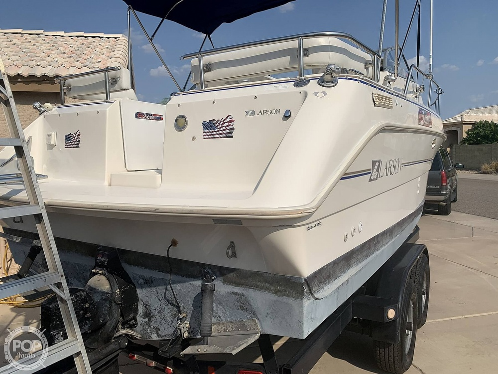 1995 Larson boat for sale, model of the boat is Cabrio 250 & Image # 4 of 40