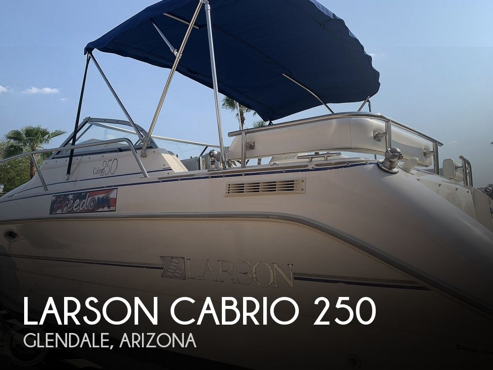 1995 Larson boat for sale, model of the boat is Cabrio 250 & Image # 1 of 40