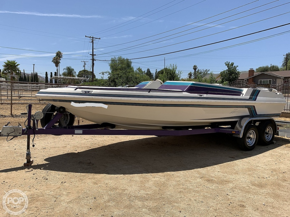 1994 Ultimate Warlock boat for sale, model of the boat is 210 LXI Open Bow & Image # 6 of 40
