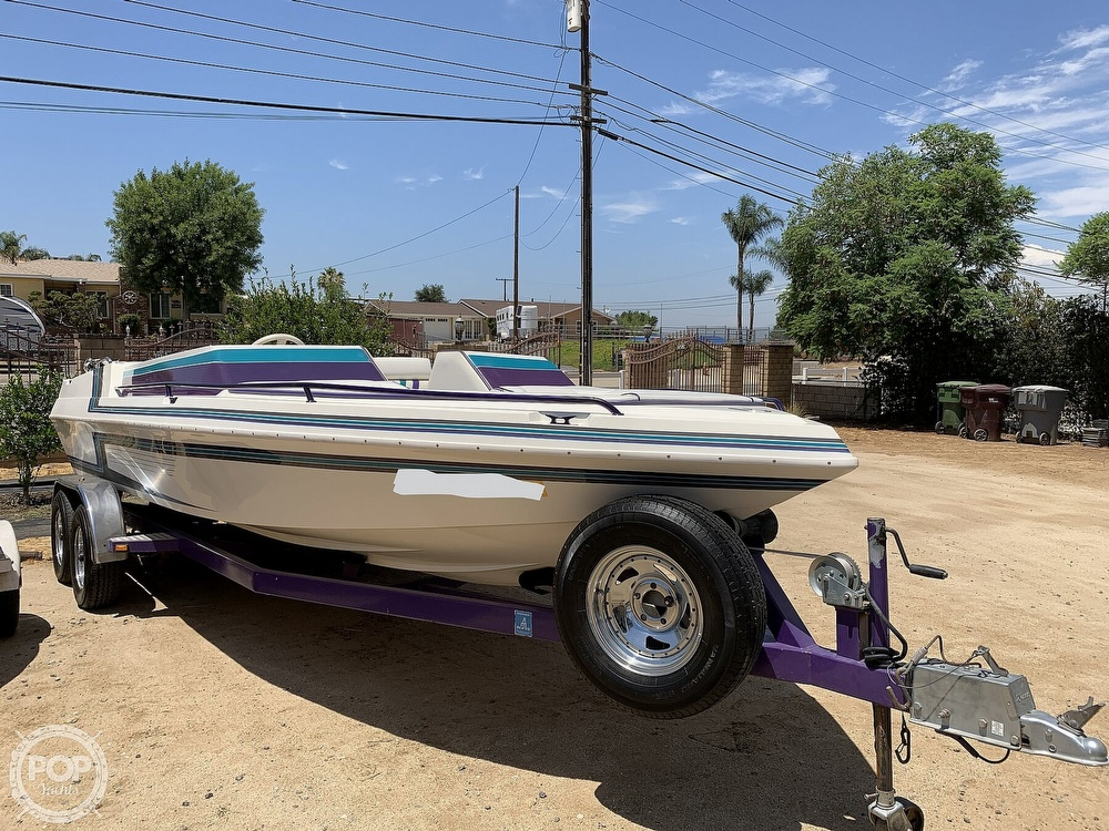 1994 Ultimate Warlock boat for sale, model of the boat is 210 LXI Open Bow & Image # 7 of 40