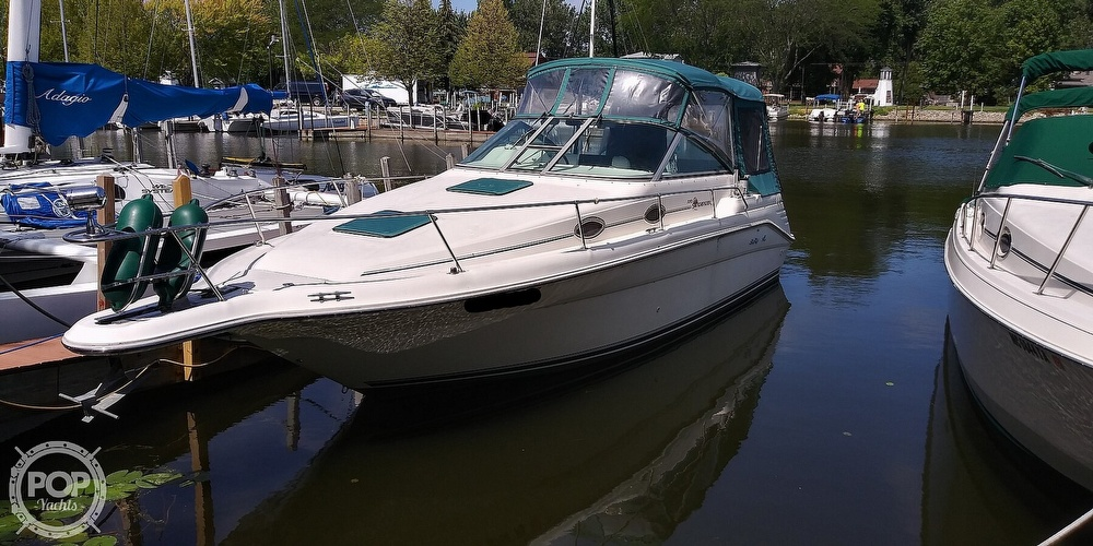 1996 Sea Ray boat for sale, model of the boat is 270 Sundancer & Image # 2 of 41
