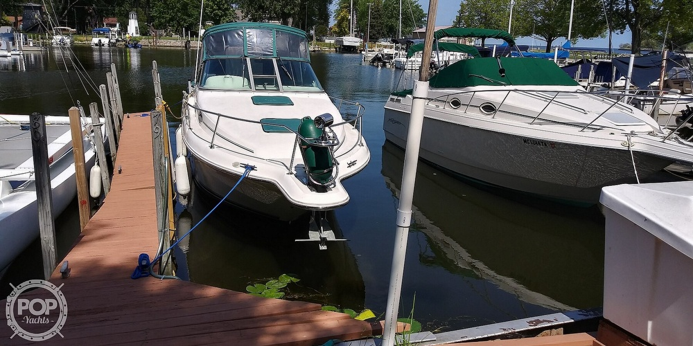 1996 Sea Ray boat for sale, model of the boat is 270 Sundancer & Image # 8 of 41