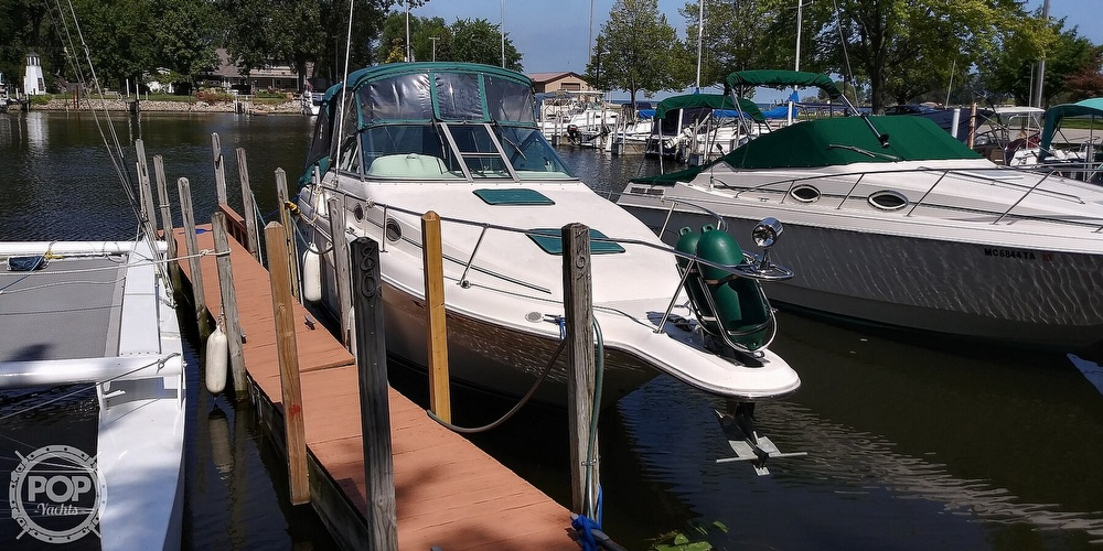 1996 Sea Ray boat for sale, model of the boat is 270 Sundancer & Image # 9 of 41
