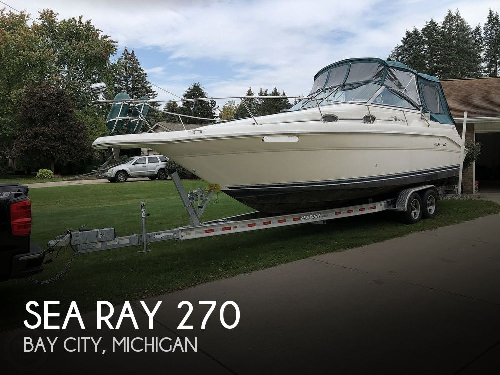 1996 Sea Ray boat for sale, model of the boat is 270 Sundancer & Image # 1 of 41