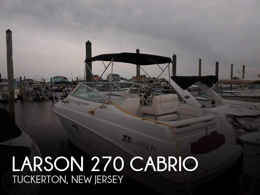 1997 Larson boat for sale, model of the boat is 270 Cabrio & Image # 1 of 40