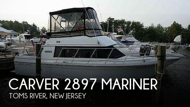 1987 Carver boat for sale, model of the boat is 2897 Mariner & Image # 1 of 40