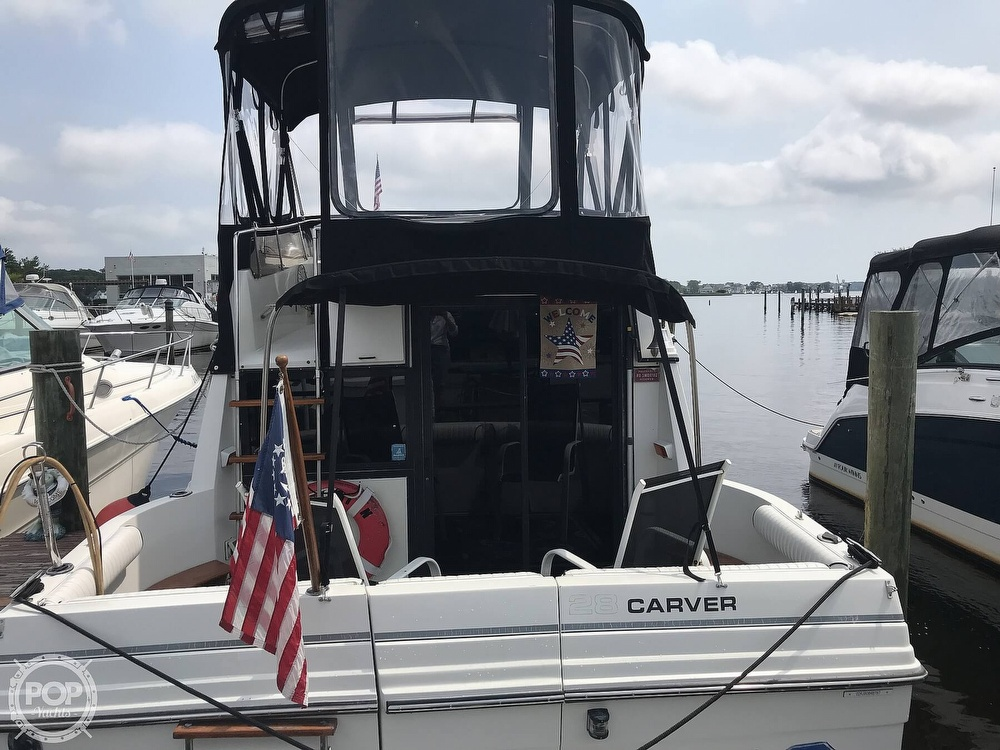 1987 Carver boat for sale, model of the boat is 2897 Mariner & Image # 2 of 40