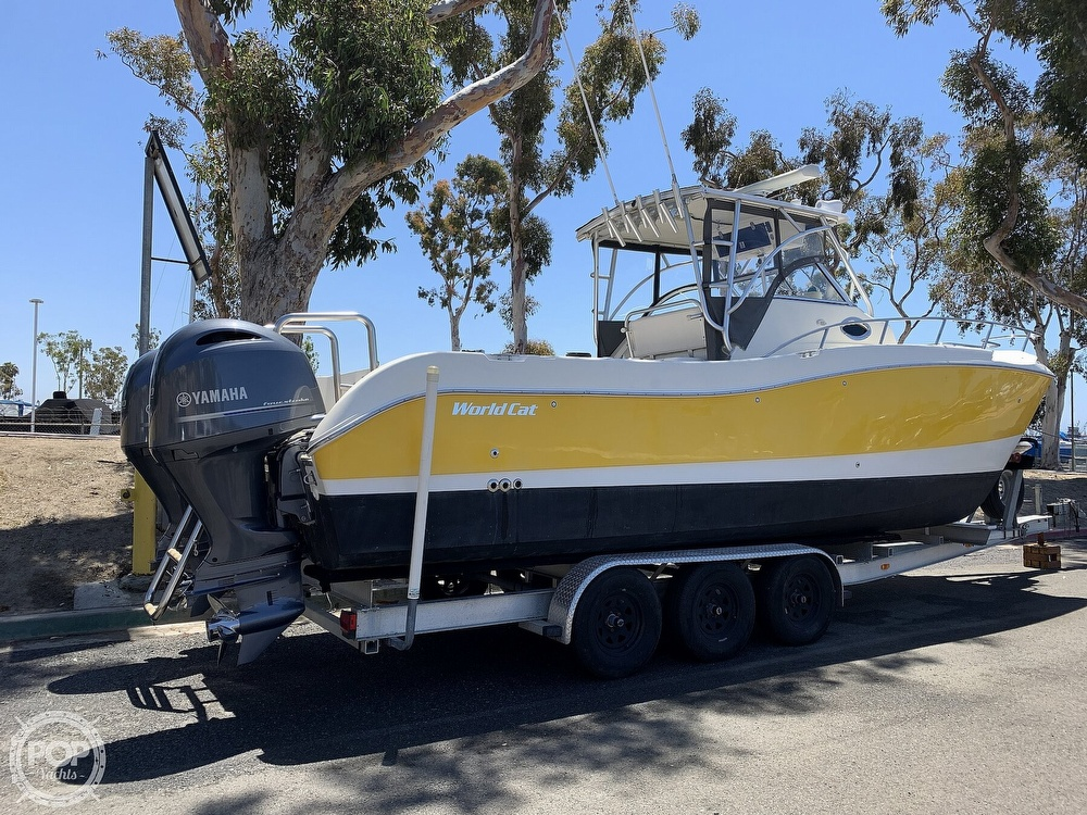 2001 World Cat boat for sale, model of the boat is 266 Sport Cuddy & Image # 20 of 40