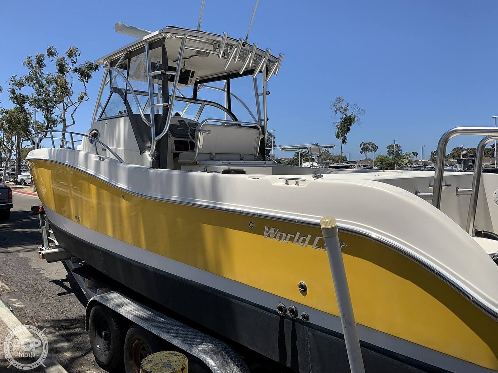 2001 World Cat boat for sale, model of the boat is 266 Sport Cuddy & Image # 12 of 40
